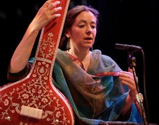 Dhrupad Singer Marianne Svasek from Holland. North-Indian classical music. http://mariannesvasek.com