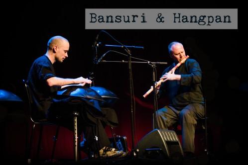 bansuri och hangpan
